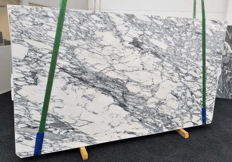 ARABESCATO CORCHIAslab polished Italian marble Slab #45,  118.1 x 66.9 x 0.8 ˮ natural stone (available in Veneto, Italy)