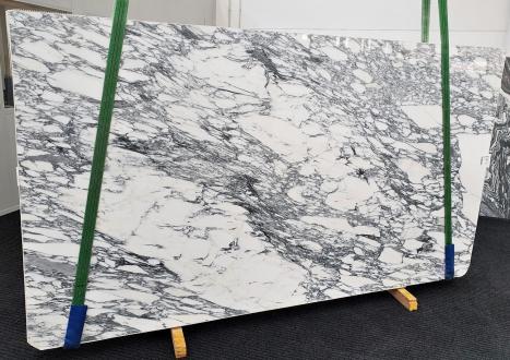 ARABESCATO CORCHIAslab polished Italian marble Slab #53,  118.1 x 66.9 x 0.8 ˮ natural stone (available in Veneto, Italy)