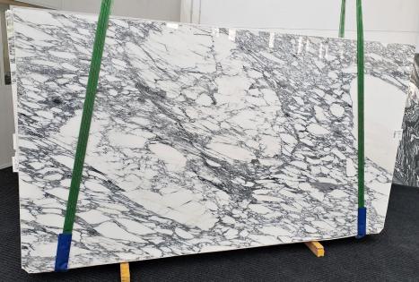 ARABESCATO CORCHIAslab polished Italian marble Slab #63,  118.1 x 66.9 x 0.8 ˮ natural stone (available in Veneto, Italy)