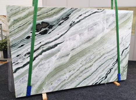 GREEN BEAUTYslab polished Chinese marble Slab #20,  110.2 x 70.9 x 0.8 ˮ natural stone (available in Veneto, Italy)