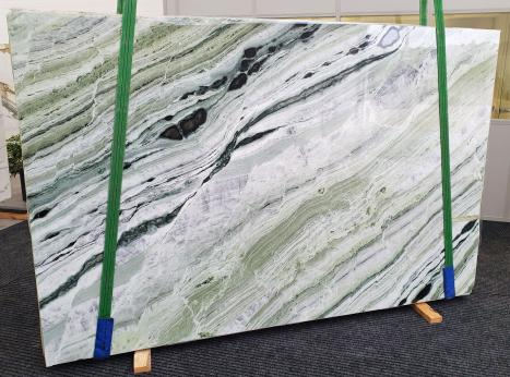 GREEN BEAUTYslab polished Chinese marble Slab #30,  110.2 x 70.9 x 0.8 ˮ natural stone (available in Veneto, Italy)
