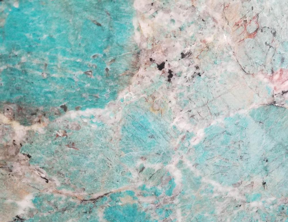 Technical detail: AMAZZONITE Brazilian polished natural, semi precious stone