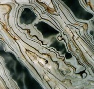 Technical detail: GLACIAL EYES Brazilian polished natural, quartzite