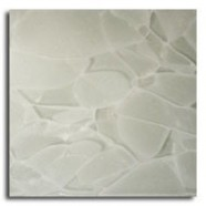 Technical detail: ASH WHITE Chinese polished, recycled glass