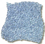 Technical detail: ACQUAMARINA Italian polished, Aquamarine glass