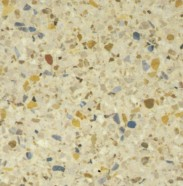Technical detail: TORCELLO Italian polished terrazzo, marble