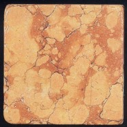 Technical detail: ROSSO VERONA Italian tumbled natural, marble